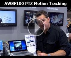 IBC 2015 - Panasonic AWSF100 PTZ Motion Tracking