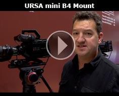IBC 2015 - Blackmagic Design URSA Mini B4 Adapter