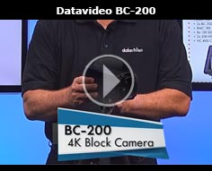 Introducing the Datavideo BC-200