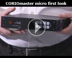 CORIOmaster micro first look