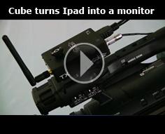 Teradek Cube turns the iPad into a monitor