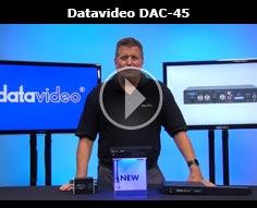 Introducing the Datavideo DAC-45 4K Up-Down Video Cross Converter