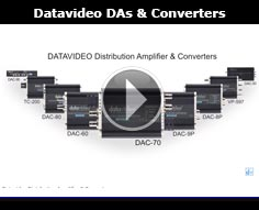 Datavideo Distribution Amplifier & Converters