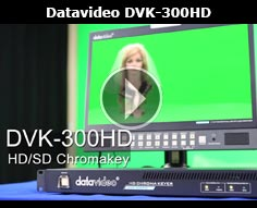 DVK-300HD Live real-time HD chromakey and luma key solution