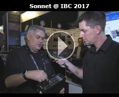 Echo Express Expansion Chassis from Sonnet at IBC 2017