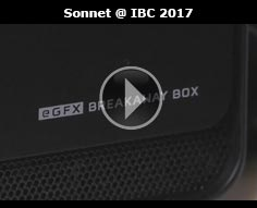 External GPU Enclosures from Sonnet at IBC 2017