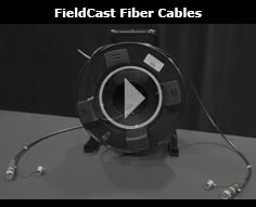 FieldCast Fiber Cables