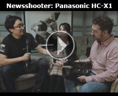Newsshooter interview: Panasonic HC-X1 4K 1-inch sensor camcorder with 20x zoom