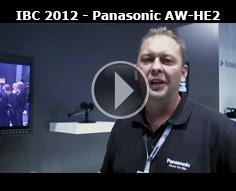 IBC 2012 - Panasonic AW-HE2