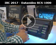 IBC 2017 - Datavideo App