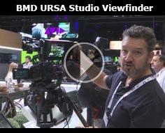 IBC 2016 - Blackmagic Design URSA Studio Viewfinder