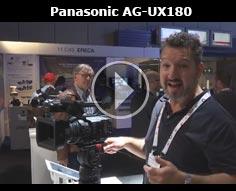 IBC 2016 - Panasonic AG-UX180