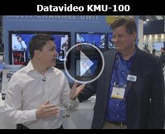 Datavideo KMU-100 @ NAB