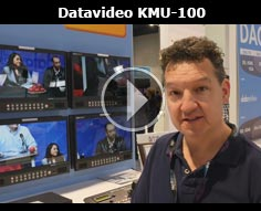 Datavideo KMU-100 @ NAB 2016