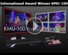 International Award Winner KMU-100 4K Multicamera Processor|Datavideo