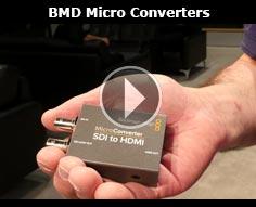 Blackmagic Design Micro Converter @ NAB 2106