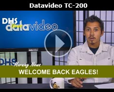 Datavideo Character Generator How-to Tutorial with the TC-200 & CG-200