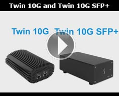 Sonnet Twin 10G and Twin 10G SFP+ Quick Product Overview