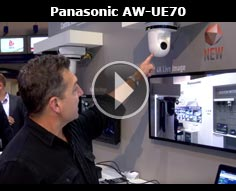 IBC 2015 - Panasonic UE70 4K PTZ Camera