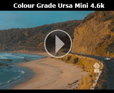 Sample Colour Grade Ursa Mini 4.6k