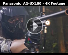 AG-UX180 First footage