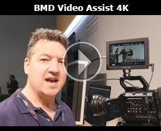 Blackmagic Design Video Assist 4K @ NAB 2106