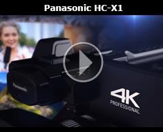 Panasonic HC-X1 4K Professional Camcorder