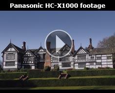 Panasonic HC-X1000 sample footage