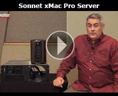 Sonnet Technologies xMac Pro Server Rackmount with Thunderbolt Expansion Demo