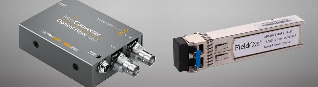 FieldCast's new 12G SFP modules