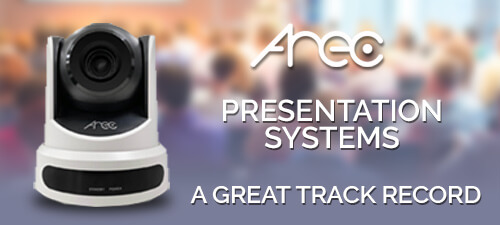 AREC Presentation Systems - A Great Track Record