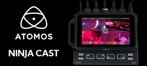 Go Live with Atomos NinjaCAST