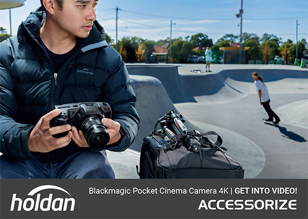 Blackmagic Design Pocket Camera 4K - Get Into Video