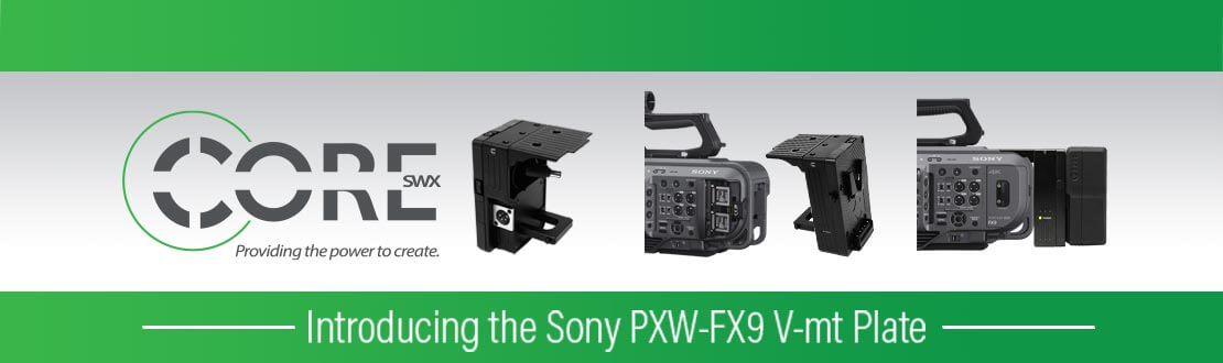 Pure Power - adding V-mount batteries to the FX9