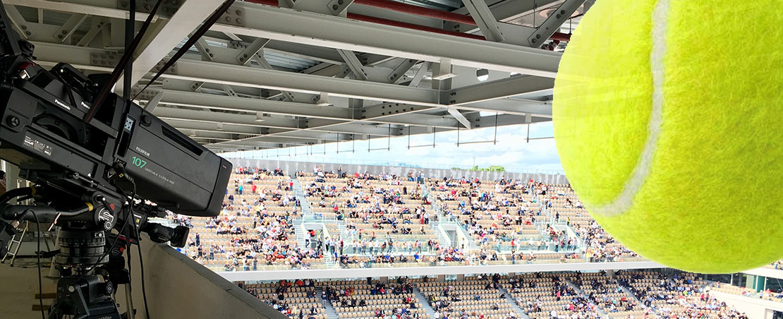 Panasonic UC4000 studio cameras capture the action at Roland Garros French Open
