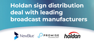 Holdan sign distribution deal with leading broadcast manufacturers