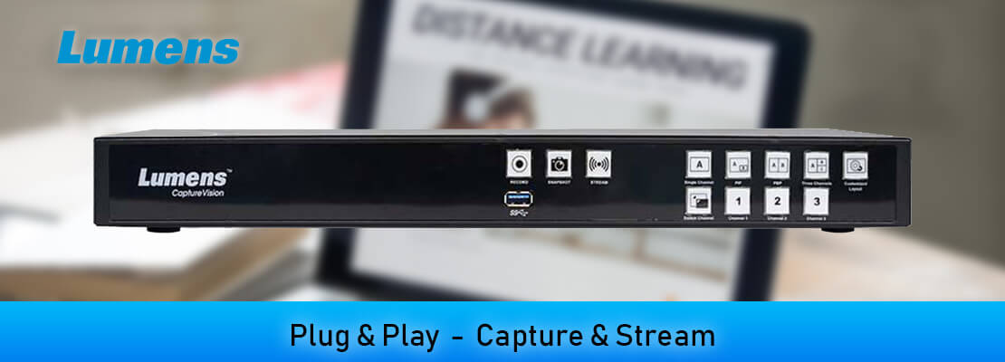 Capture, Record and Stream - Live in Minutes