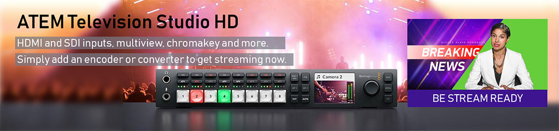What's the best choice? ATEM Mini Pro or the TV Studio HD?