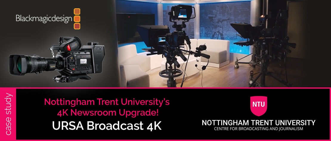 Nottingham Trent University's 4K Newsroom Upgrade