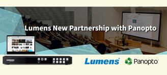 Lumens and Panopto announce partnership