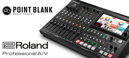Point Blank Music School and the Roland VR-50HD