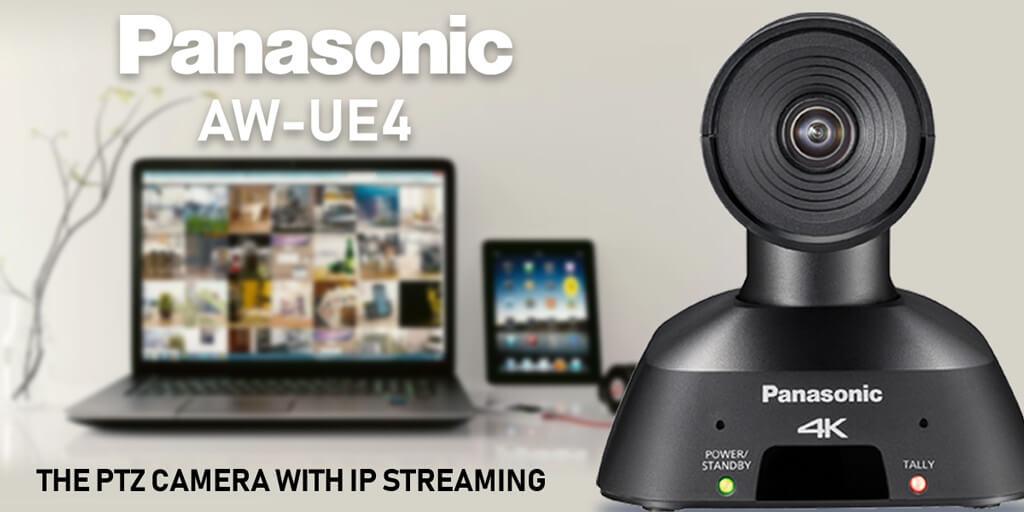 De Panasonic AW-UE4: de juiste camera op het juiste moment
