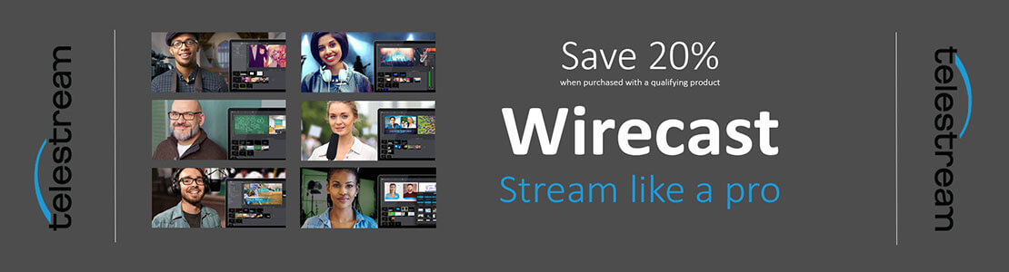 Wirecast Distance Learning Promotion