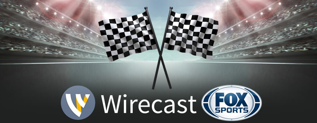 FOX Sports Throws Daytona 500 Infield Party using Wirecast from Telestream