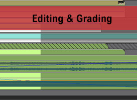 NLE Editing, Grading and Effects