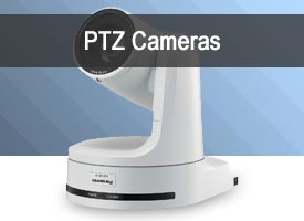 HD and 4K PTZ Cameras