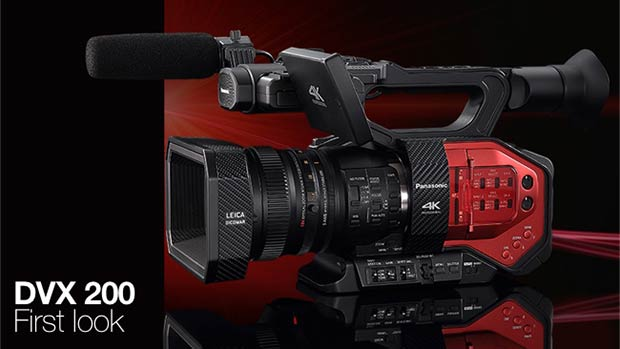 RedShark: Exclusive First Look: The 4K Panasonic DVX200 by Richard Payne