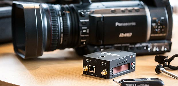 Streaming Media: Teradek Bond II - Hands-On Review by Dom Robinson