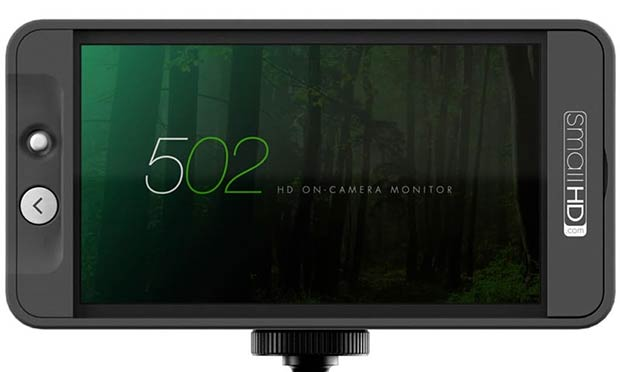 SmallHD 502 and Sidefinder Combo is the Best Reference Monitor of NAB 2015 by Jackson Wong