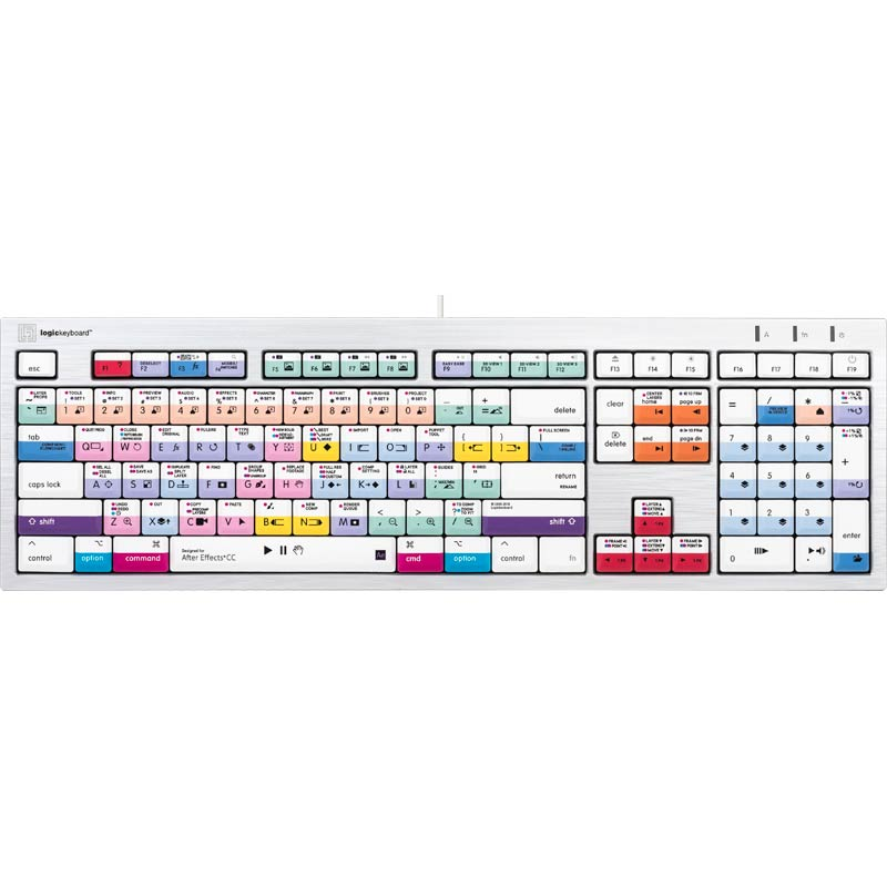 Logickeyboard After Effects CC - Mac Alba